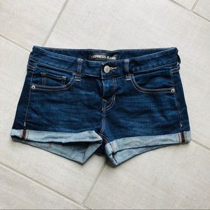 Cuffed Shorts from Express